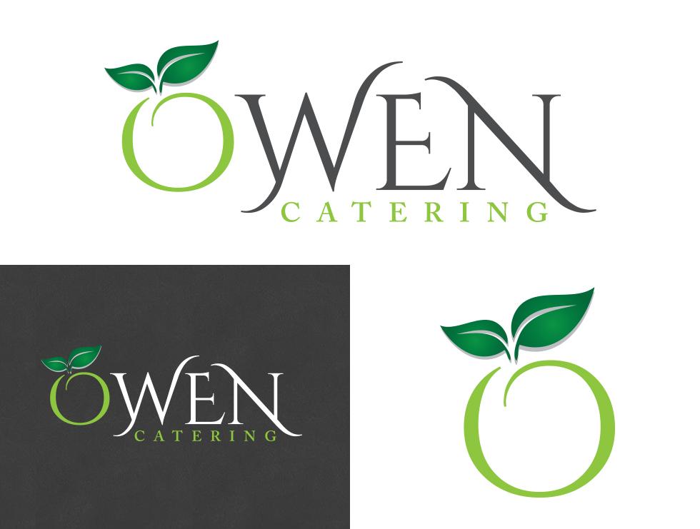 Owen Catering Logo Creation
