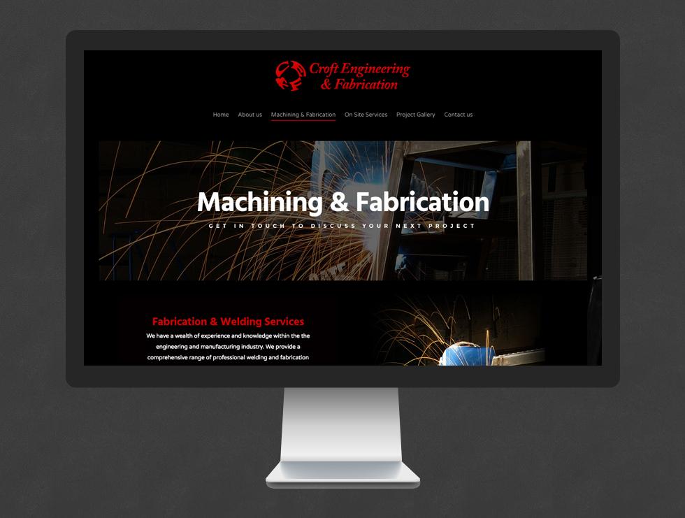 Croft Engineering Website