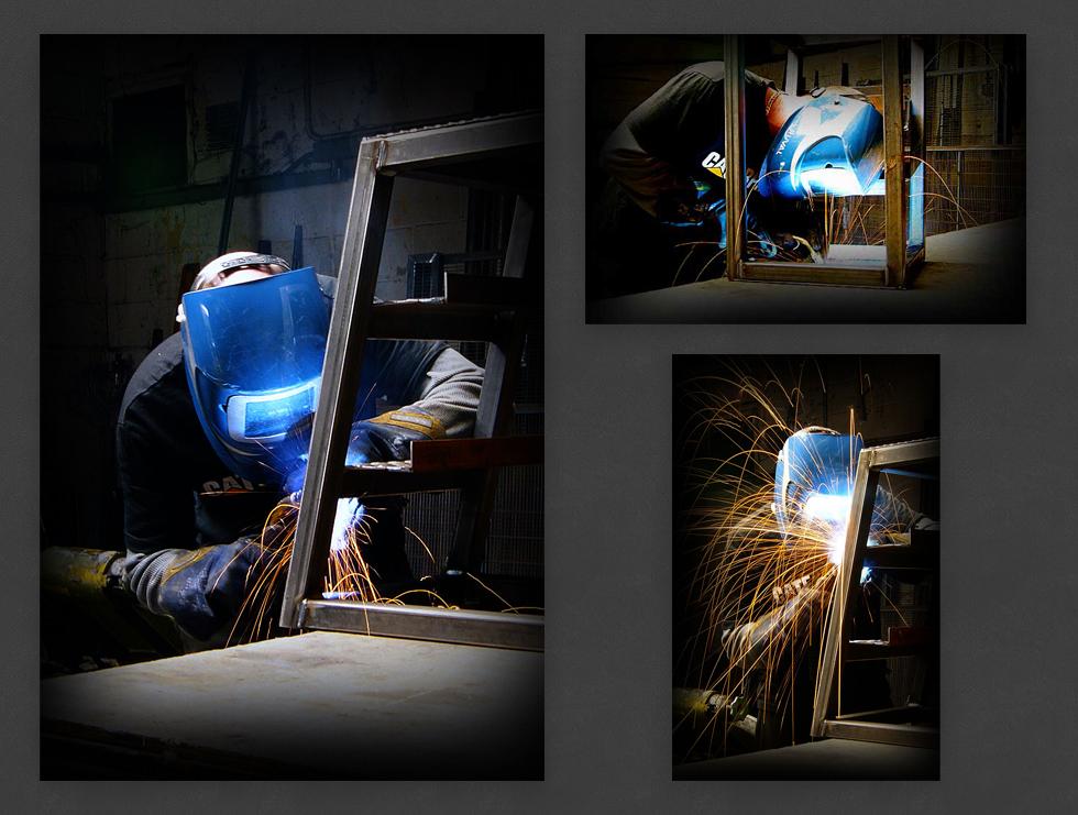 Fabricator at Work Photography