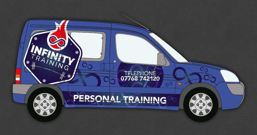 Infinity Training Vehicle Branding
