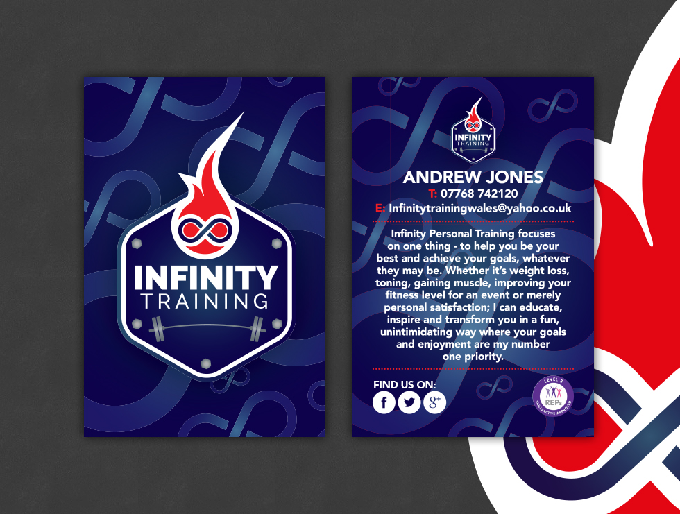 Infinity Training Business Cards