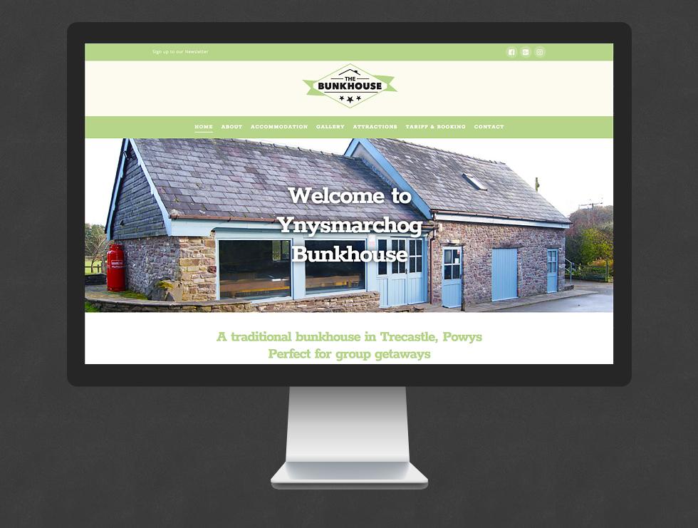 Bunkhouse Wales Website