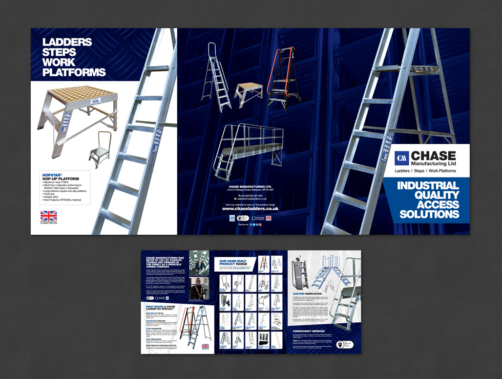 Chase Ladders Company Brochure