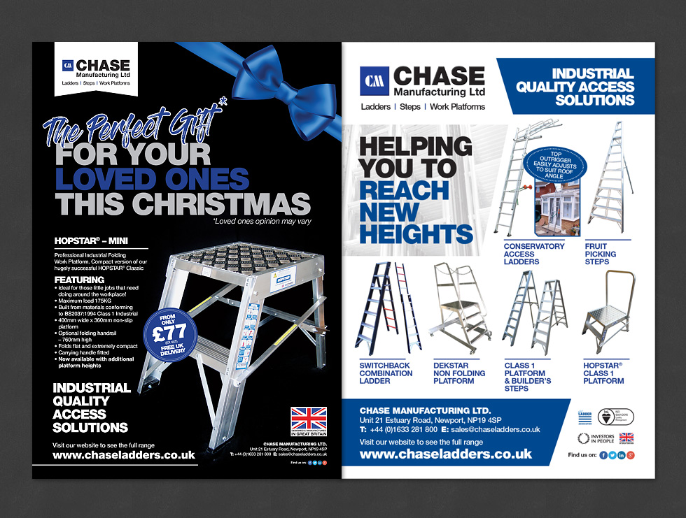 Chase Ladders Advertising