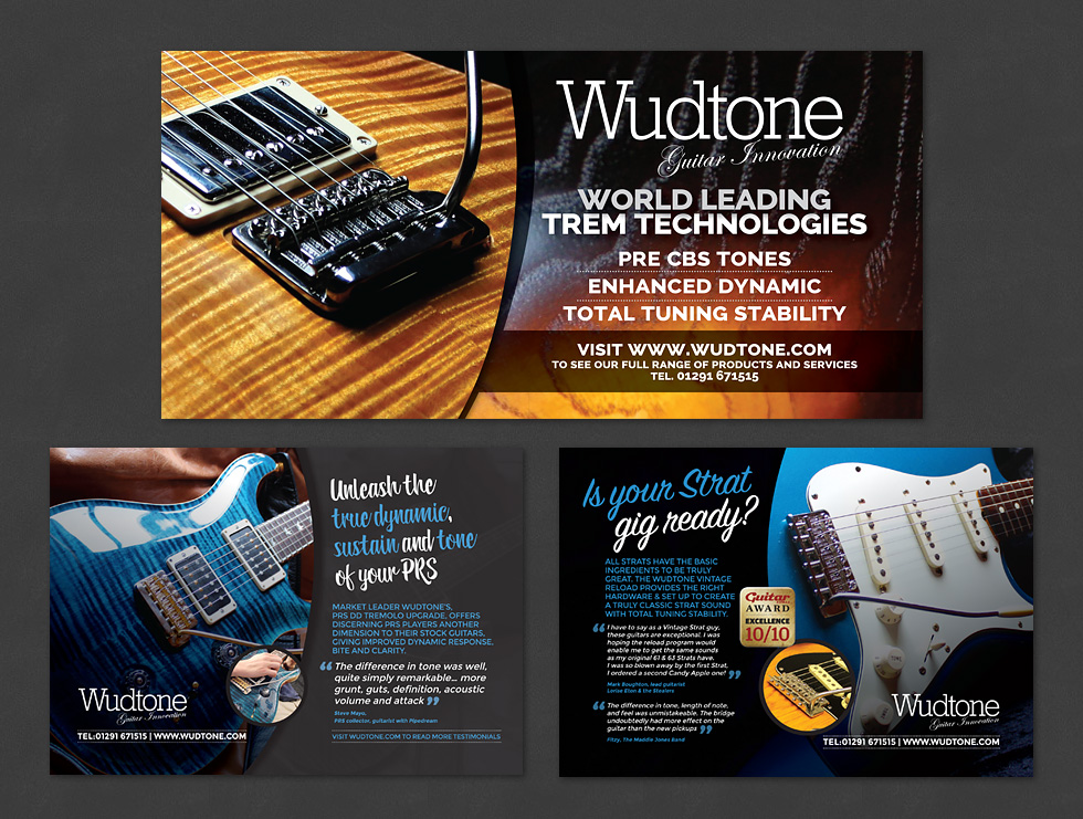Wudtone Press Advertisements