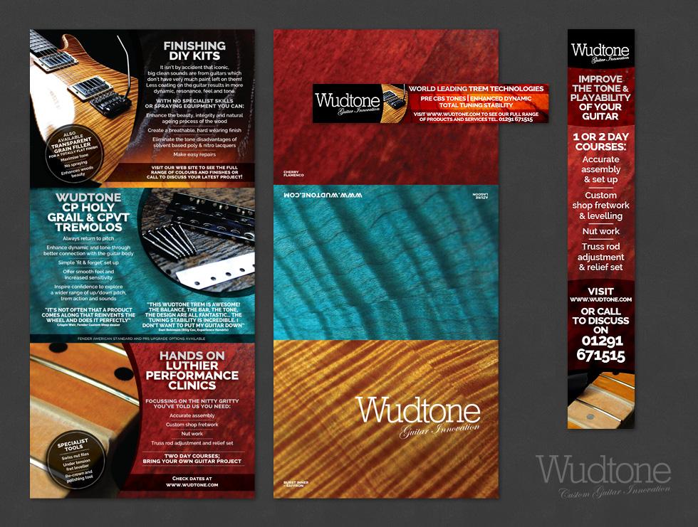 Wudtone Direct Mailer