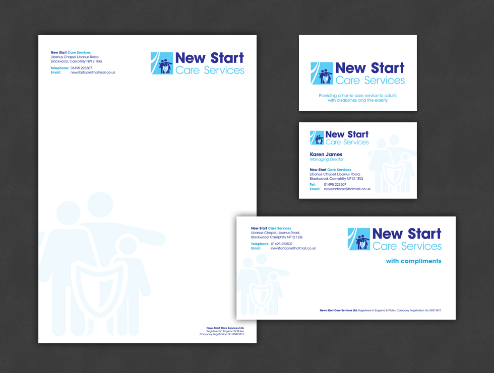 New Start Care Services Stationery